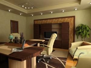 Проект офисного помещения. Работа Зайчуковой Наталии