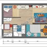 План квартиры Николаева