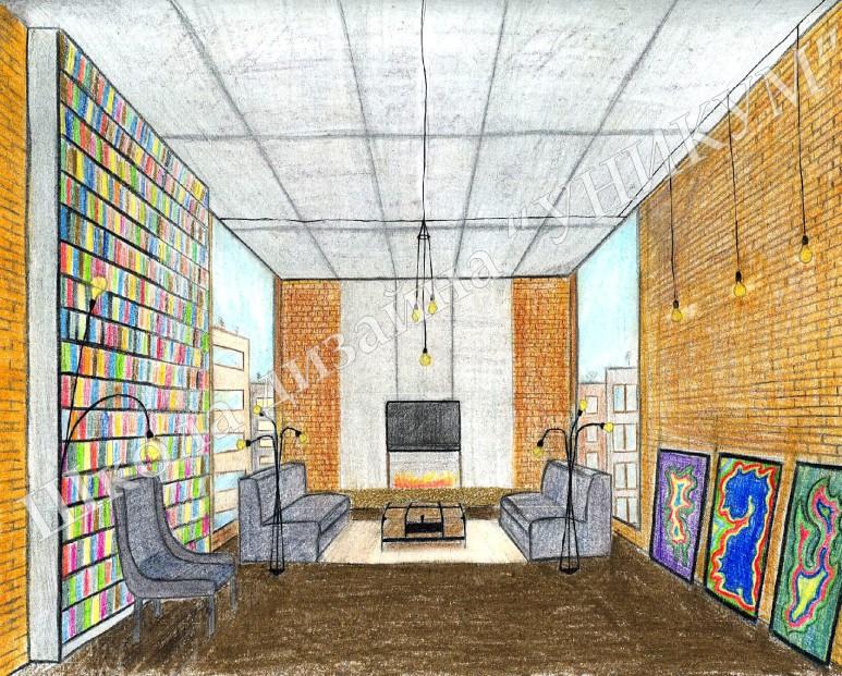 1 for Interior design kurs